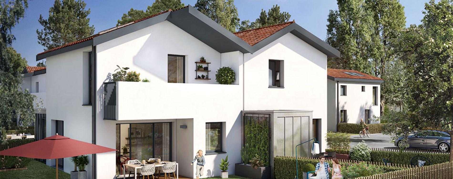 Blanquefort : programme immobilier neuve « Lys Blancs » (2)