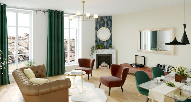 Résidence « 15 Rue Contrescarpe » programme immobilier à rénover en Loi Pinel ancien à Bordeaux n°1