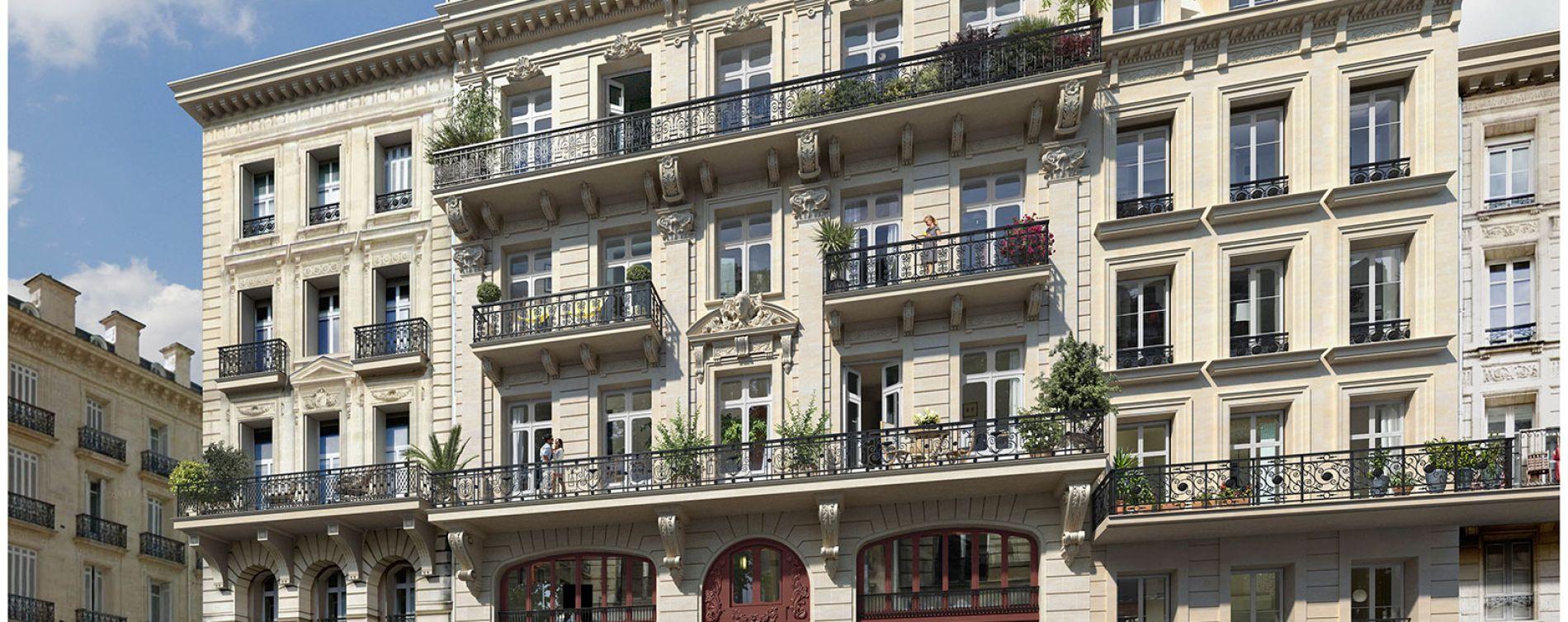 Bordeaux : programme immobilier à rénover « 1883 » en Loi Malraux