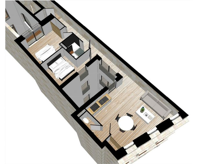 Plan T3 neuf à Bordeaux de