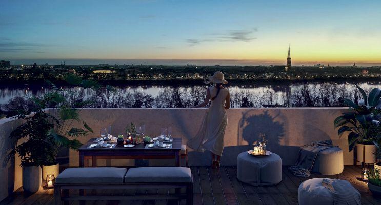 Photo n°1 du Résidence « Amplitude » programme immobilier neuf en Loi Pinel à Bordeaux