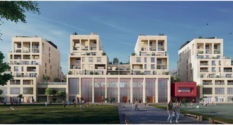 Photo n°2 du Résidence « Amplitude » programme immobilier neuf en Loi Pinel à Bordeaux