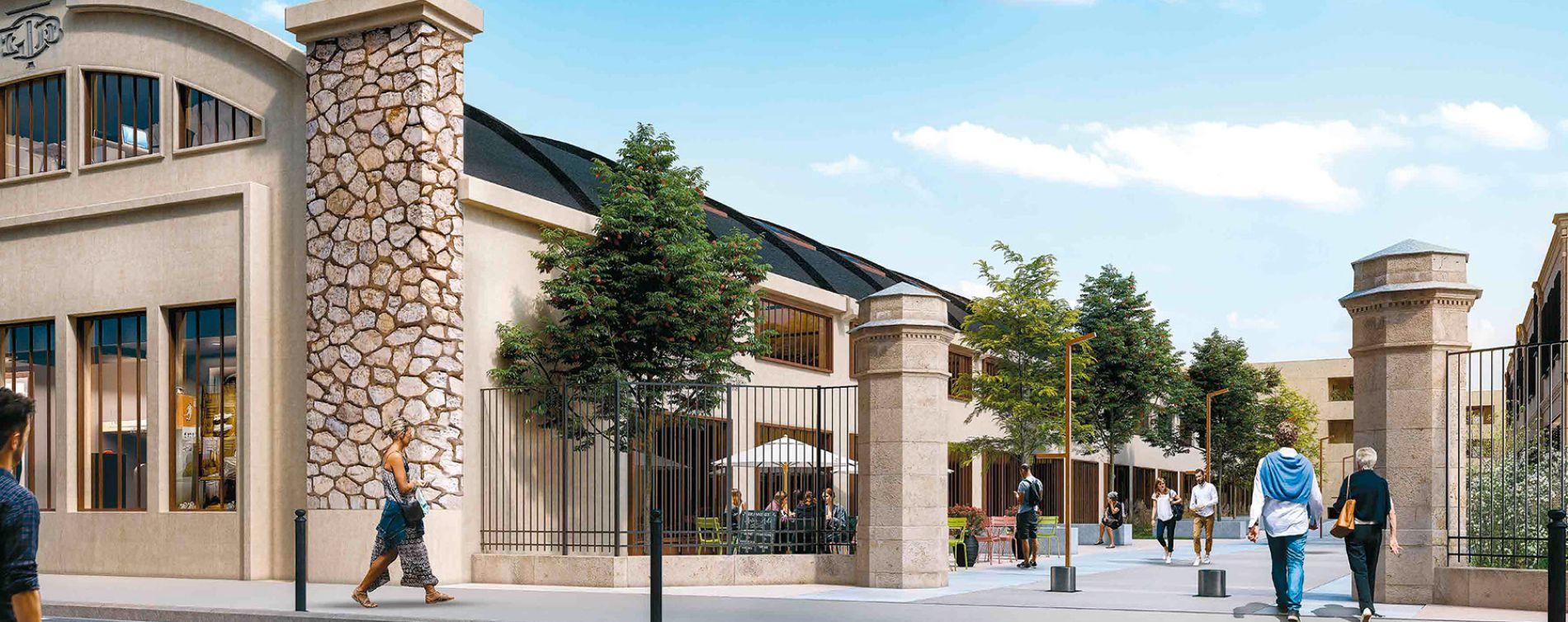 Bordeaux : programme immobilier neuve « Avant-Garde - Egérie » en Loi Pinel