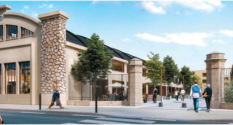 Photo du Résidence « Avant-Garde - Egérie » programme immobilier neuf en Loi Pinel à Bordeaux