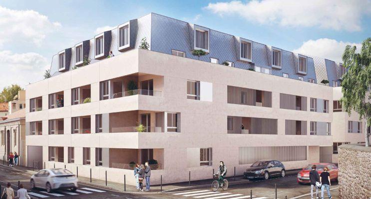 Photo du Résidence « Avant-Garde Tranche 2 » programme immobilier neuf en Loi Pinel à Bordeaux