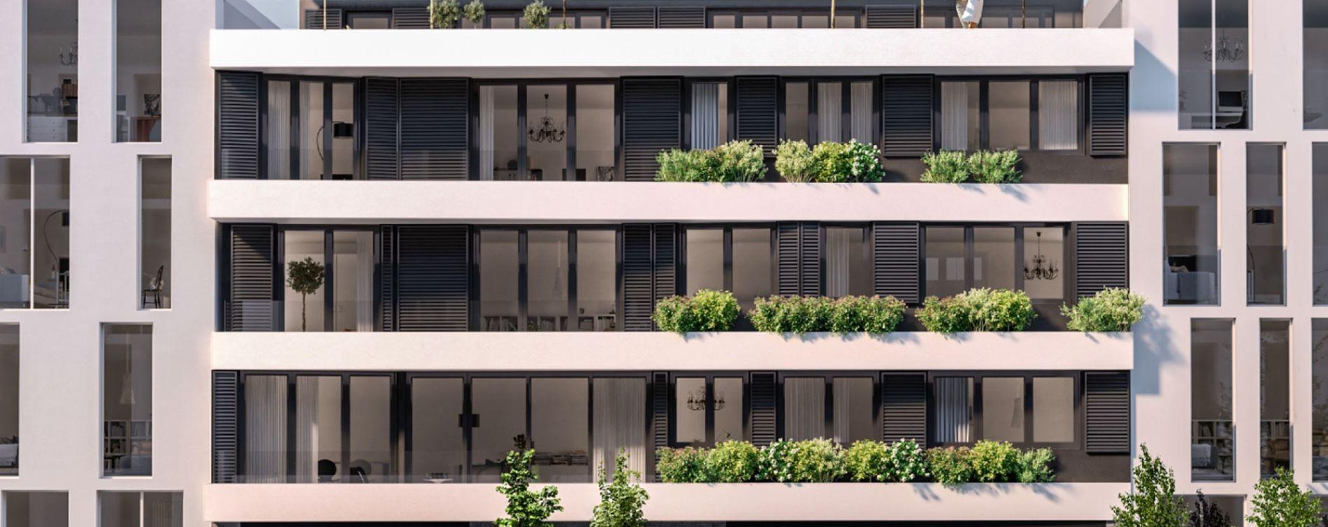 Bordeaux : programme immobilier neuve « Be Chartrons » en Loi Pinel (2)