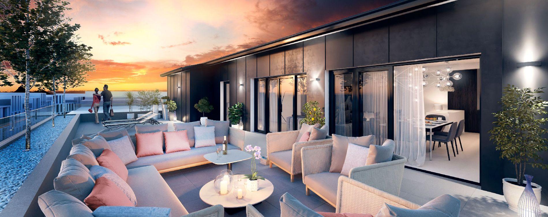 Bordeaux : programme immobilier neuve « Be Chartrons » en Loi Pinel (3)