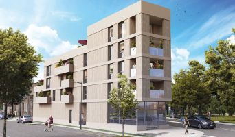 Bordeaux programme immobilier neuve « Bel Air » en Loi Pinel  (2)