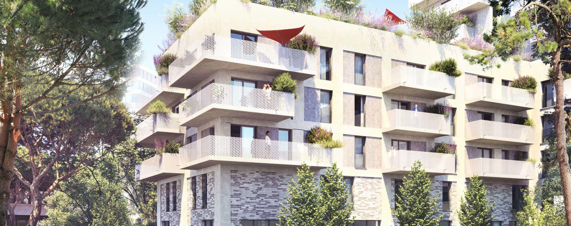 Bordeaux : programme immobilier neuve « Bordocima 2 » en Loi Pinel