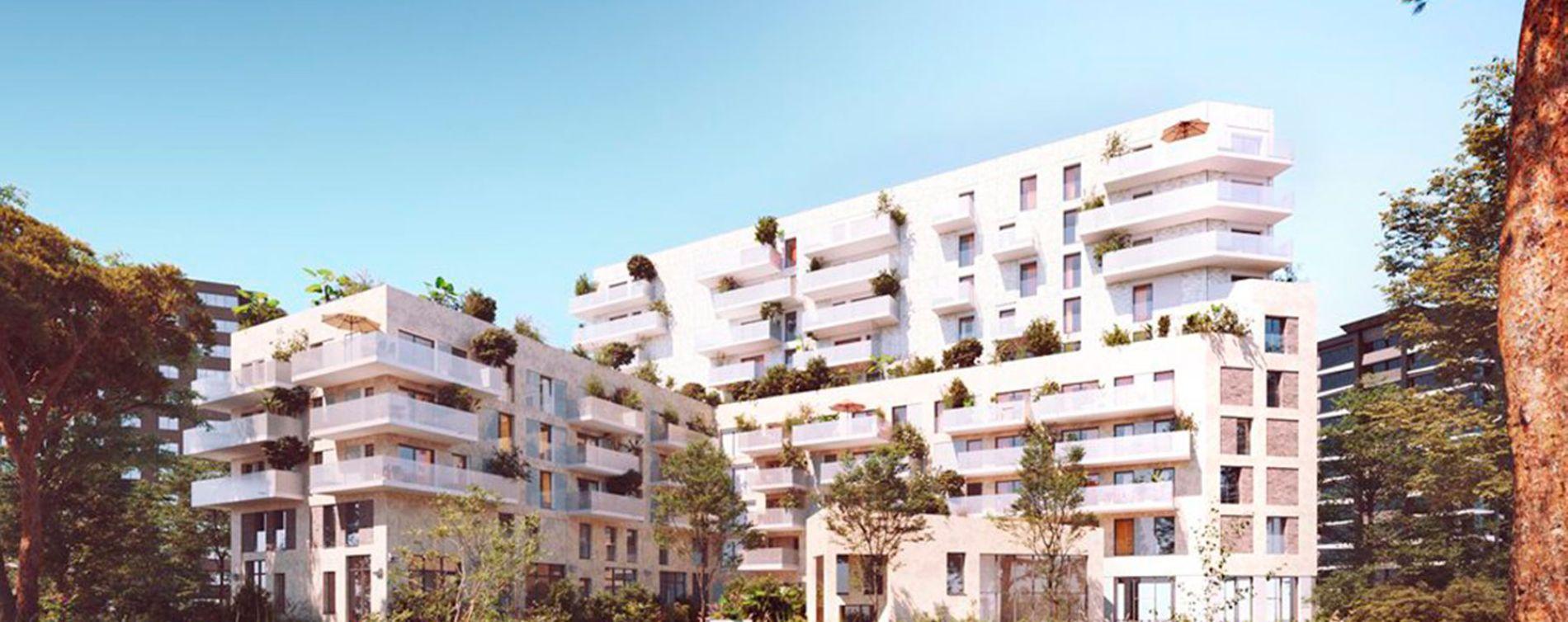 Bordeaux : programme immobilier neuve « Bordocima » en Loi Pinel