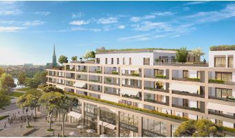 Résidence « Bordoriva » programme immobilier neuf en Loi Pinel à Bordeaux n°1