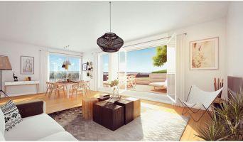 Résidence « Bordoriva » programme immobilier neuf en Loi Pinel à Bordeaux n°3