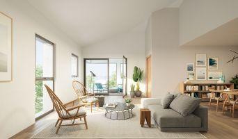 Bordeaux programme immobilier neuve « Bricklane » en Loi Pinel  (2)