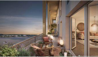 Bordeaux programme immobilier neuve « Cap Garonne » en Loi Pinel