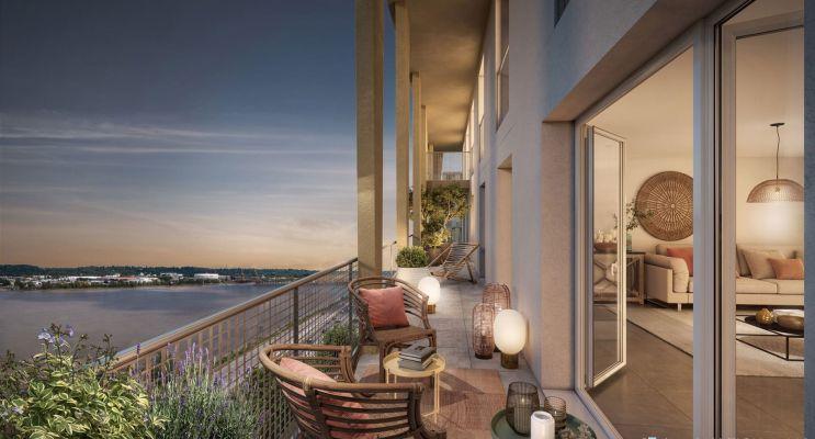 Bordeaux programme immobilier neuf « Cap Garonne