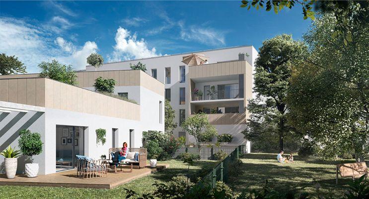 Résidence « Carré Capucins » programme immobilier neuf en Loi Pinel à Bordeaux n°3