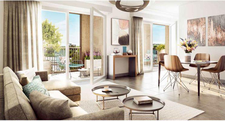 Résidence « Coeur Saint Germain » programme immobilier neuf en Loi Pinel à Bordeaux n°3