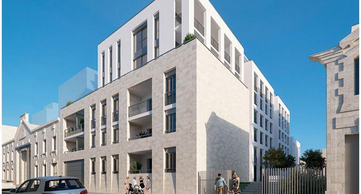 Résidence « Cour Ségur » programme immobilier neuf en Loi Pinel à Bordeaux n°3