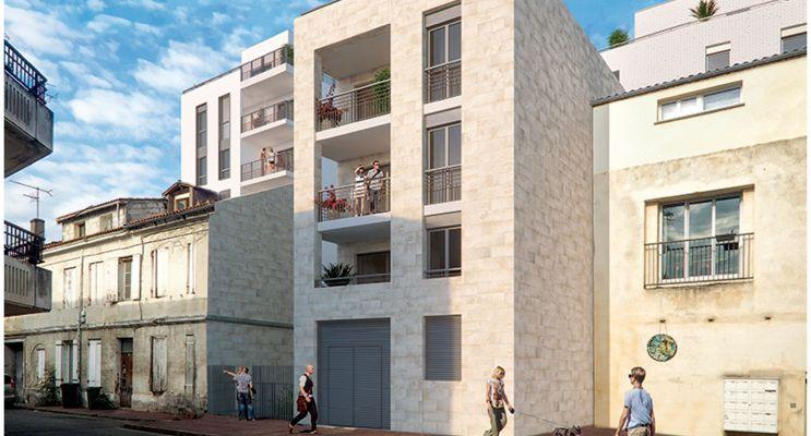 Résidence « Cour Ségur » programme immobilier neuf en Loi Pinel à Bordeaux n°4