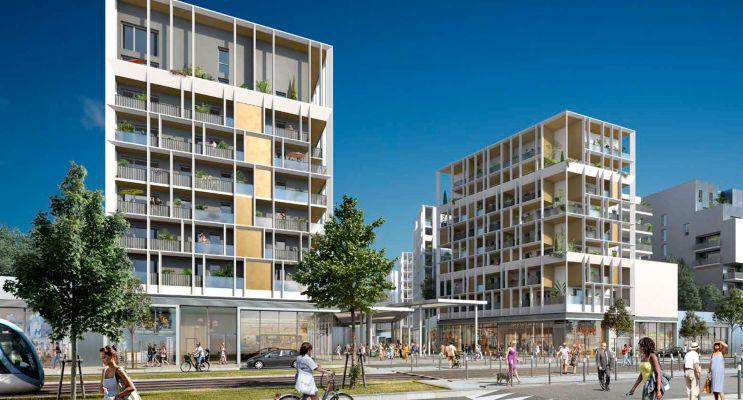 Résidence « Dédicace - Ginko » programme immobilier neuf en Loi Pinel à Bordeaux n°1