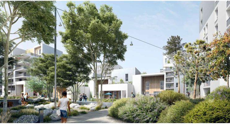 Résidence « Dédicace - Ginko » programme immobilier neuf en Loi Pinel à Bordeaux n°2