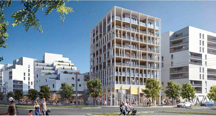 Résidence « Dédicace - Ginko » programme immobilier neuf en Loi Pinel à Bordeaux n°3