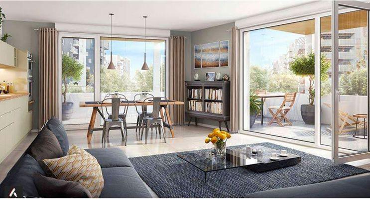 Résidence « Dédicace - Ginko » programme immobilier neuf en Loi Pinel à Bordeaux n°4