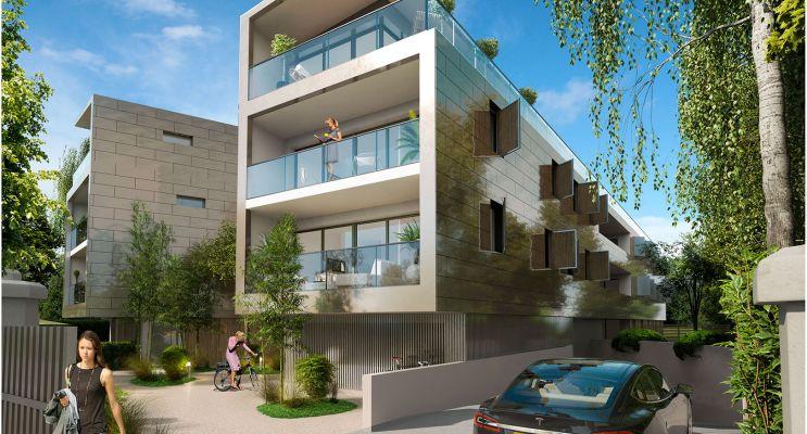 Résidence « Éclat De Vert » programme immobilier neuf en Loi Pinel à Bordeaux n°3