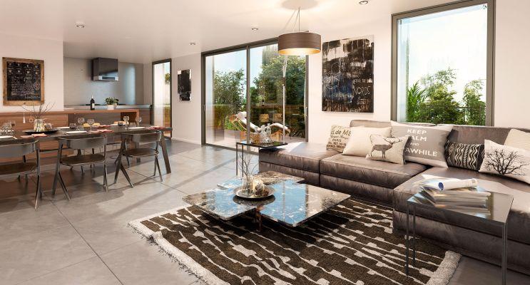 Résidence « Éclat De Vert » programme immobilier neuf en Loi Pinel à Bordeaux n°4