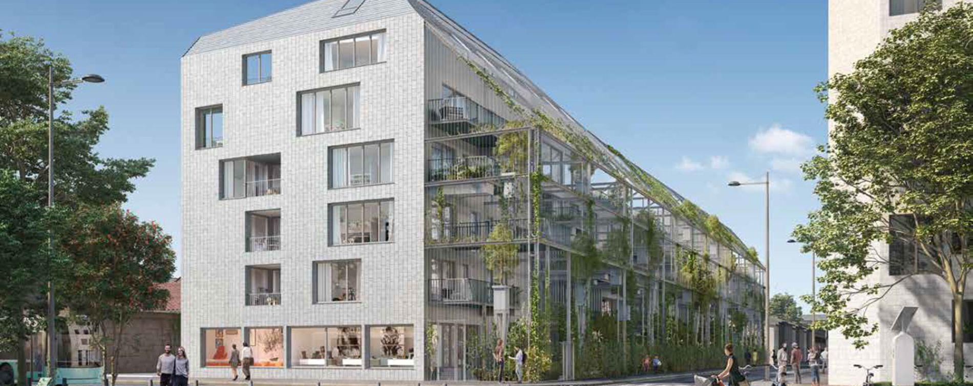 Bordeaux : programme immobilier neuve « Ekko » en Loi Pinel