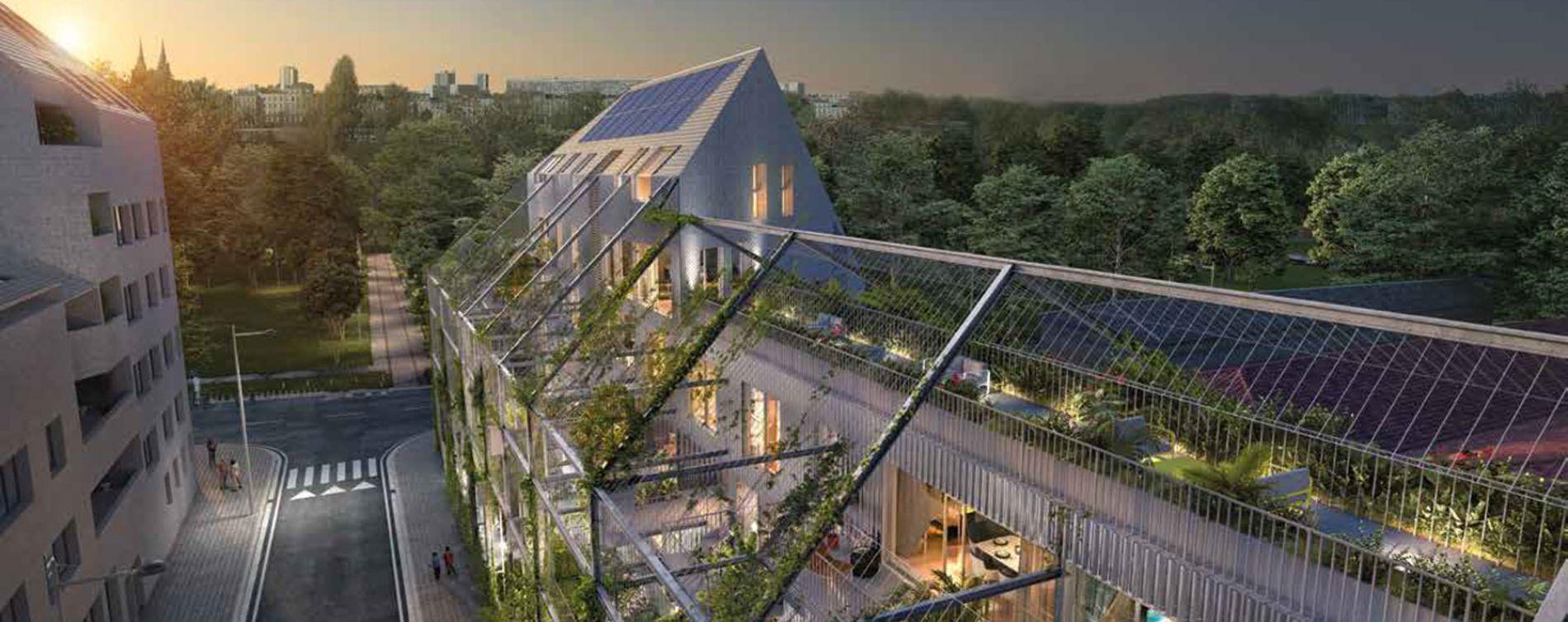 Bordeaux : programme immobilier neuve « Ekko » en Loi Pinel (2)