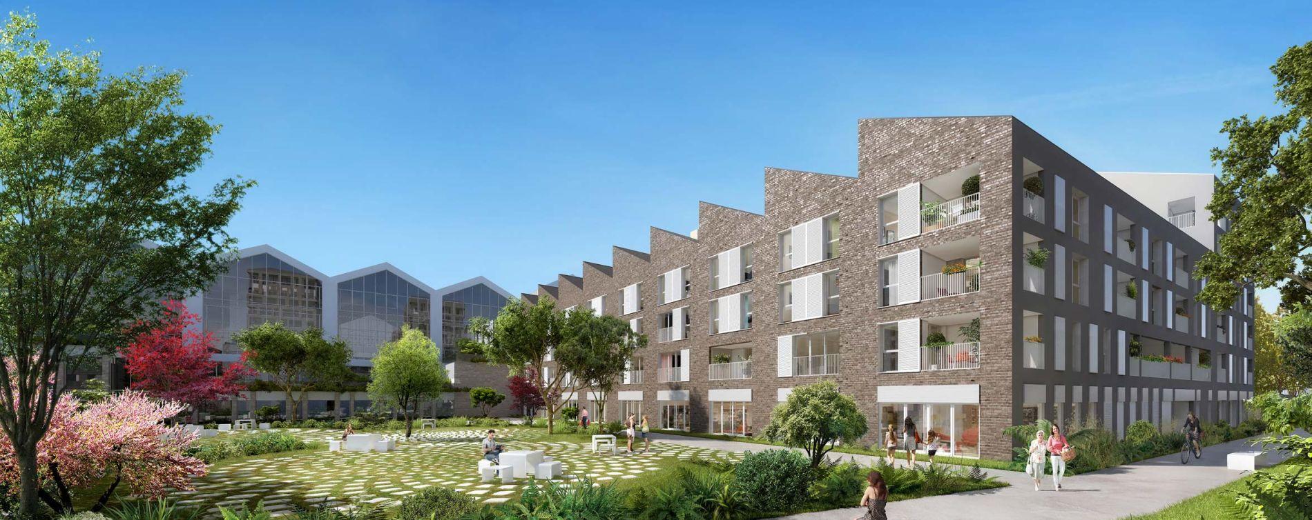 Bordeaux : programme immobilier neuve « Emblem » en Loi Pinel (2)