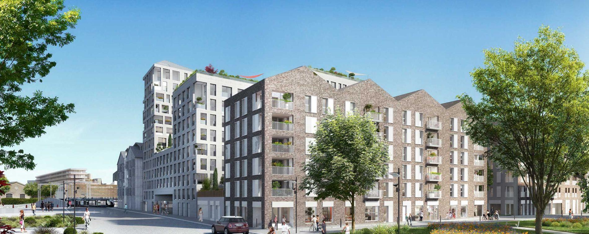 Bordeaux : programme immobilier neuve « Emblem » en Loi Pinel (3)