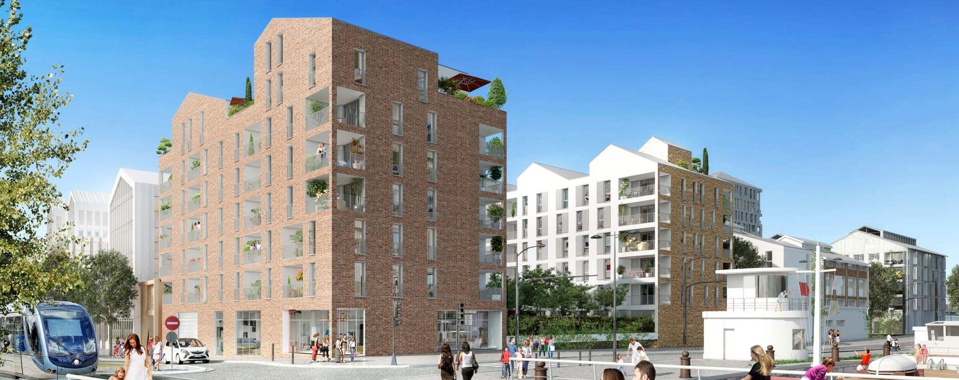 Bordeaux : programme immobilier neuve « Emblem » en Loi Pinel (4)
