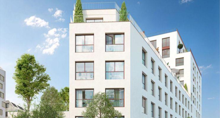 Photo du Résidence « Escale sur Jardins - RTA » programme immobilier neuf à Bordeaux