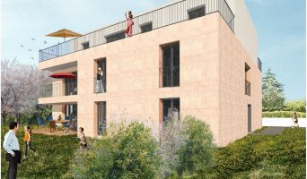 Résidence « Esprit Cauderan » programme immobilier neuf en Loi Pinel à Bordeaux n°2