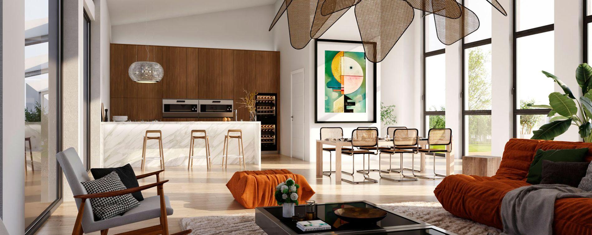 Bordeaux : programme immobilier neuve « Eterna » en Loi Pinel (3)