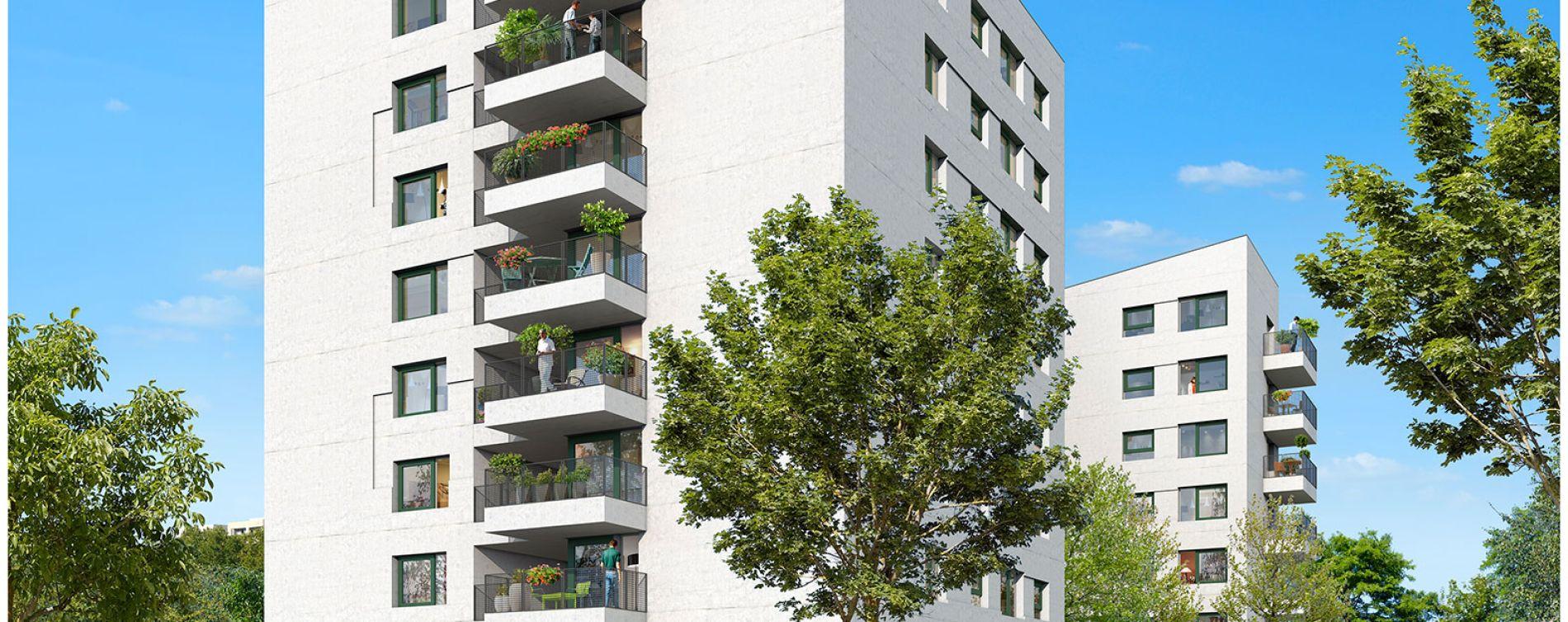 Bordeaux : programme immobilier neuve « Graphik » en Loi Pinel