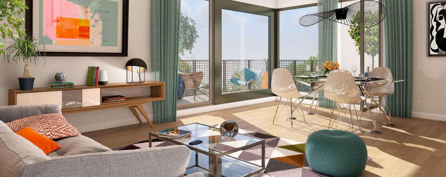 Bordeaux : programme immobilier neuve « Graphik » en Loi Pinel (3)
