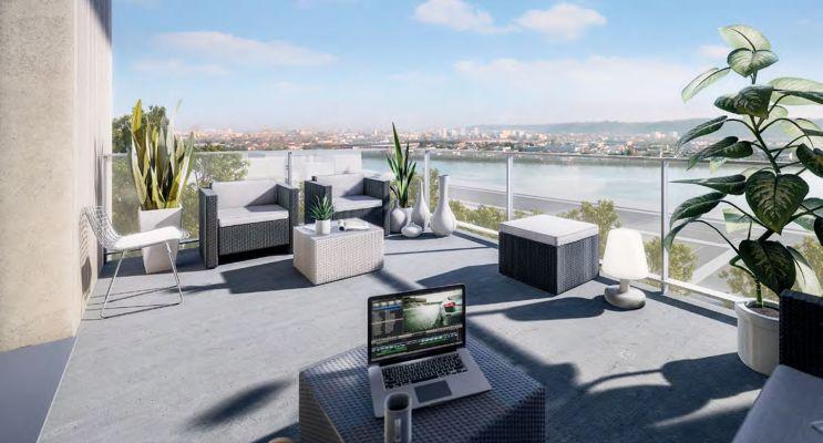 Résidence « Horizon » programme immobilier neuf en Loi Pinel à Bordeaux n°1