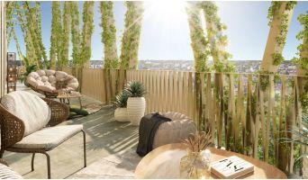 Bordeaux programme immobilier neuf « Iksso » en Loi Pinel