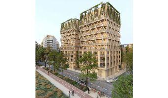 Bordeaux programme immobilier neuve « Iksso » en Loi Pinel  (2)