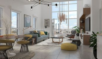 Résidence « Innlove 2 » programme immobilier neuf en Loi Pinel à Bordeaux n°4