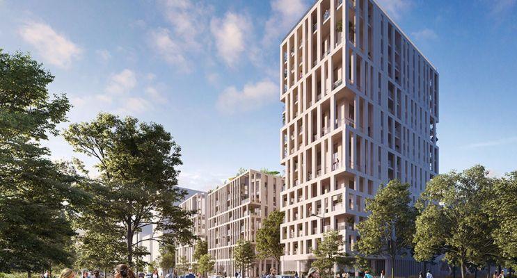 Photo n°1 du Résidence « Innlove 2 » programme immobilier neuf en Loi Pinel à Bordeaux