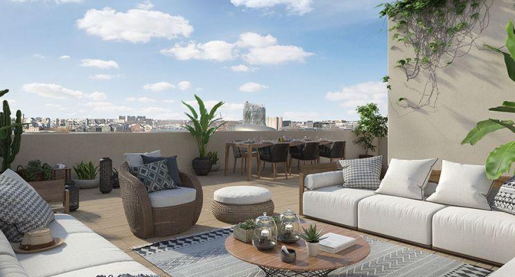 Photo n°3 du Résidence « Innlove 2 » programme immobilier neuf en Loi Pinel à Bordeaux