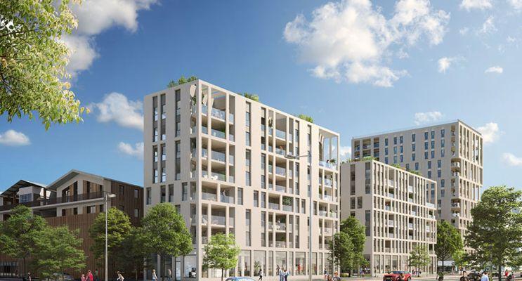 Bordeaux : programme immobilier neuf « Innlove » en Loi Pinel