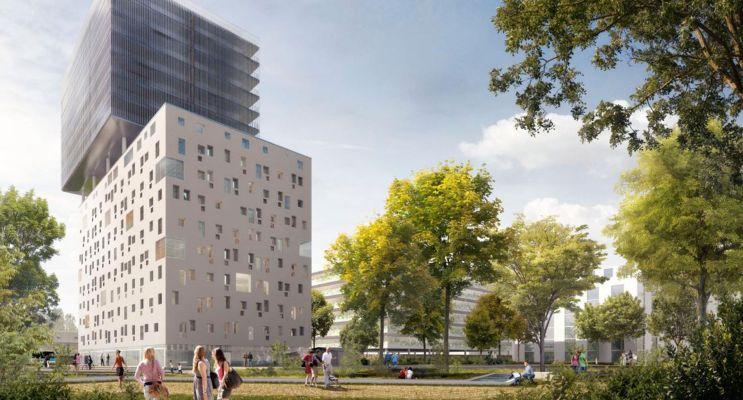 Bordeaux programme immobilier neuf « InNova » en Loi Pinel