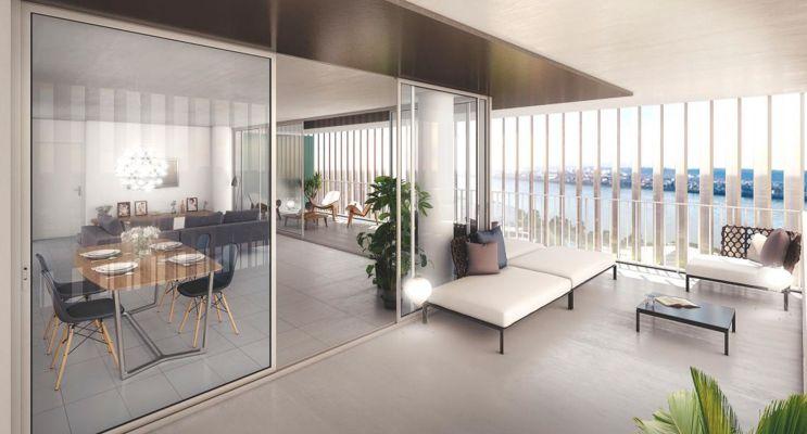 Résidence « Innova » programme immobilier neuf en Loi Pinel à Bordeaux n°2