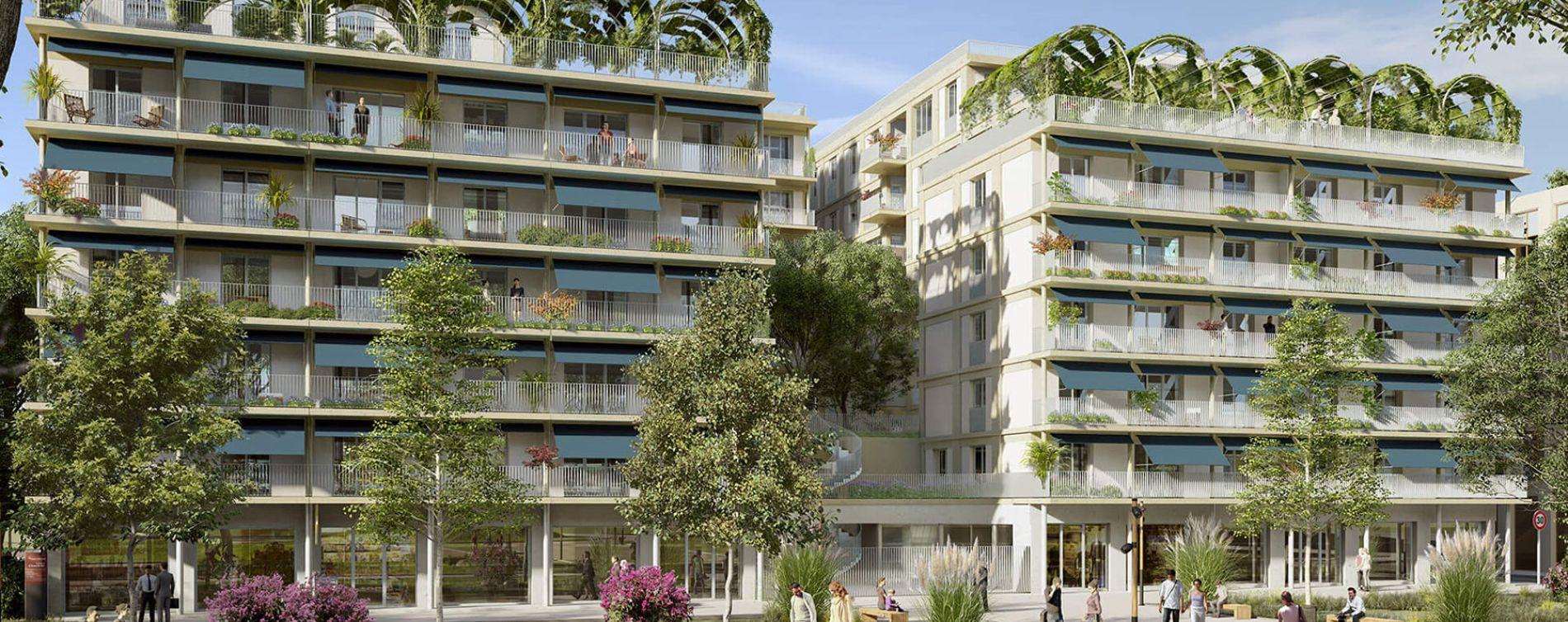 Bordeaux : programme immobilier neuve « L'Althéa » en Loi Pinel