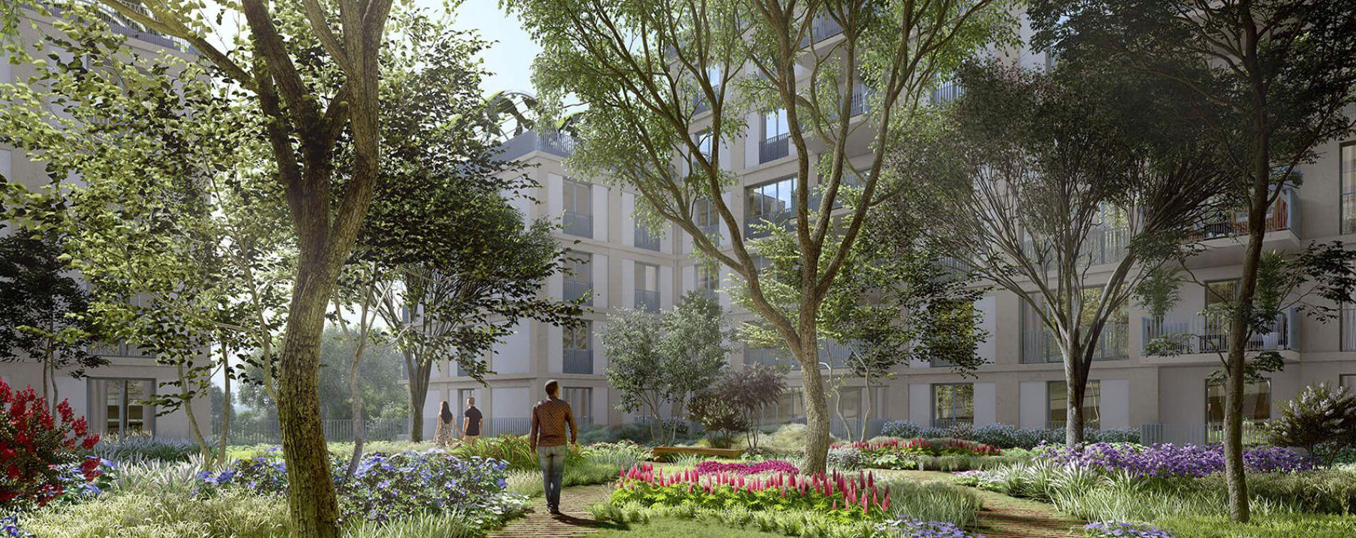 Bordeaux : programme immobilier neuve « L'Althéa » en Loi Pinel (2)